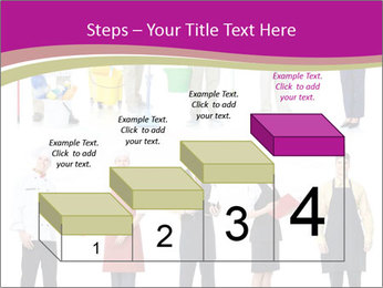 Team of Cleaners PowerPoint Templates - Slide 64