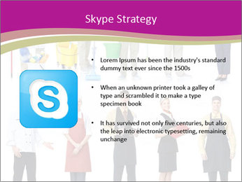 Team of Cleaners PowerPoint Templates - Slide 8
