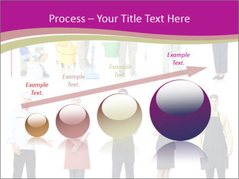 Team of Cleaners PowerPoint Templates - Slide 87