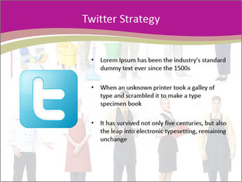 Team of Cleaners PowerPoint Templates - Slide 9