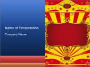 Circus Poster PowerPoint Templates