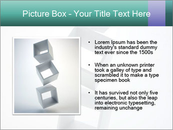 Boxes in the Air PowerPoint Templates - Slide 13