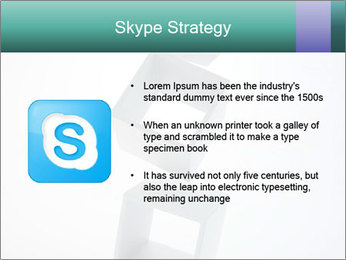 Boxes in the Air PowerPoint Templates - Slide 8