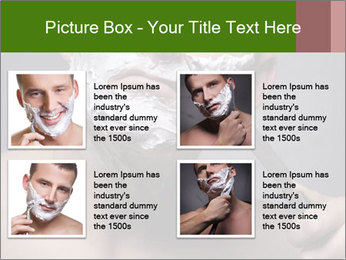 Daily Shaving Routine PowerPoint Template - Slide 14