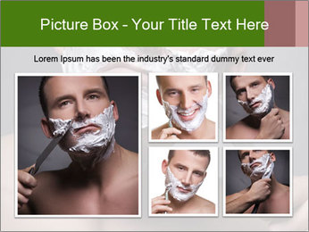 Daily Shaving Routine PowerPoint Template - Slide 19