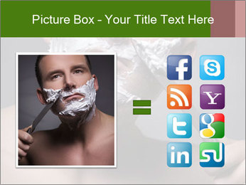 Daily Shaving Routine PowerPoint Template - Slide 21