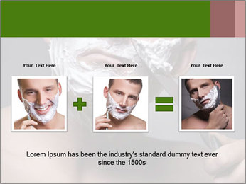 Daily Shaving Routine PowerPoint Template - Slide 22