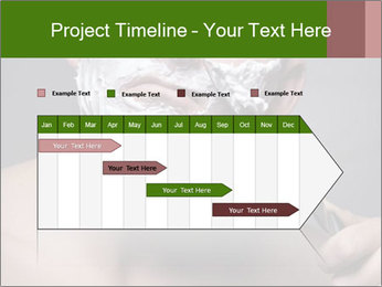 Daily Shaving Routine PowerPoint Template - Slide 25