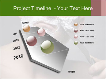 Daily Shaving Routine PowerPoint Template - Slide 26