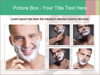 Man's Shaving Routine PowerPoint Template - Slide 19