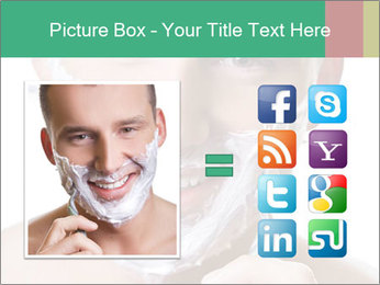 Man's Shaving Routine PowerPoint Templates - Slide 21