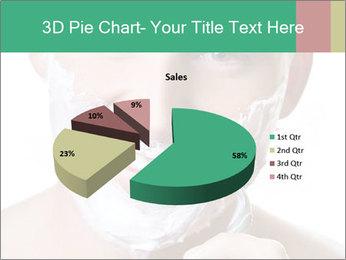 Man's Shaving Routine PowerPoint Templates - Slide 35