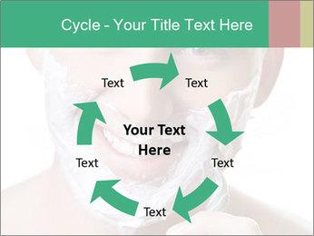 Man's Shaving Routine PowerPoint Templates - Slide 62