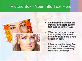 Shy Bloody Lady PowerPoint Templates - Slide 20