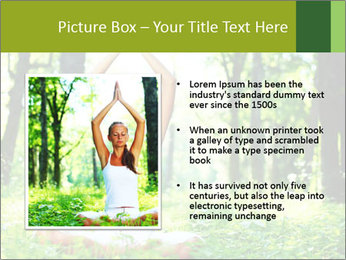 Meditation in the Forest PowerPoint Template - Slide 13