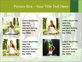 Meditation in the Forest PowerPoint Template - Slide 14