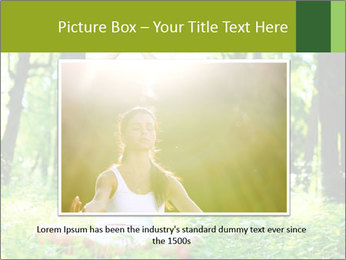 Meditation in the Forest PowerPoint Template - Slide 15