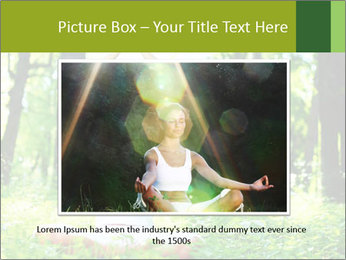 Meditation in the Forest PowerPoint Template - Slide 16