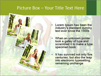 Meditation in the Forest PowerPoint Template - Slide 17