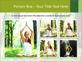 Meditation in the Forest PowerPoint Template - Slide 19
