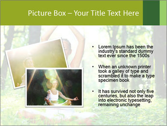 Meditation in the Forest PowerPoint Template - Slide 20