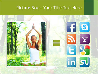 Meditation in the Forest PowerPoint Template - Slide 21