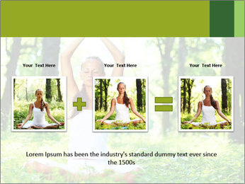 Meditation in the Forest PowerPoint Template - Slide 22