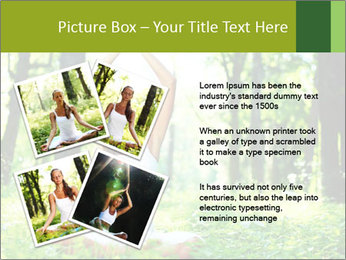Meditation in the Forest PowerPoint Template - Slide 23