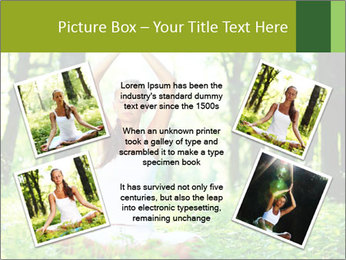 Meditation in the Forest PowerPoint Template - Slide 24
