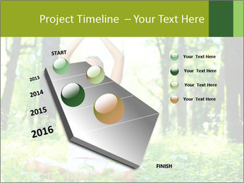Meditation in the Forest PowerPoint Template - Slide 26
