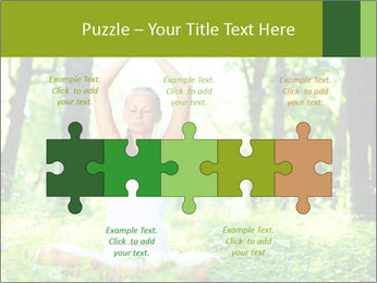 Meditation in the Forest PowerPoint Template - Slide 41
