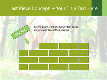 Meditation in the Forest PowerPoint Template - Slide 46
