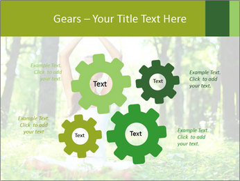 Meditation in the Forest PowerPoint Template - Slide 47