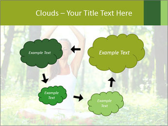 Meditation in the Forest PowerPoint Template - Slide 72