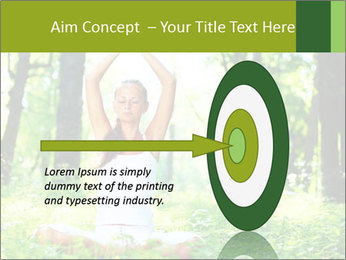 Meditation in the Forest PowerPoint Template - Slide 83