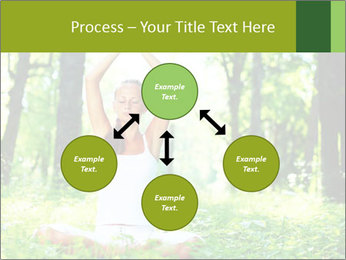 Meditation in the Forest PowerPoint Template - Slide 91