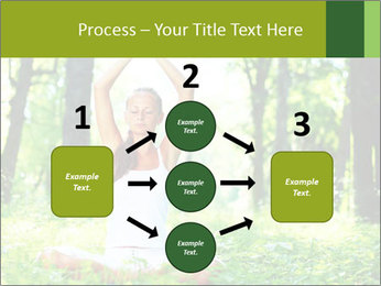 Meditation in the Forest PowerPoint Template - Slide 92