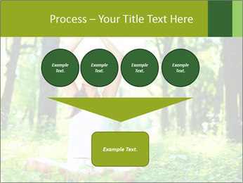 Meditation in the Forest PowerPoint Template - Slide 93