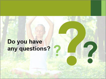 Meditation in the Forest PowerPoint Template - Slide 96