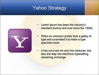 3D Yellow Bowling Ball PowerPoint Template - Slide 11