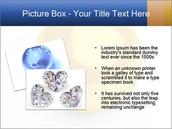 3D Yellow Bowling Ball PowerPoint Template - Slide 20