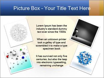3D Yellow Bowling Ball PowerPoint Template - Slide 24