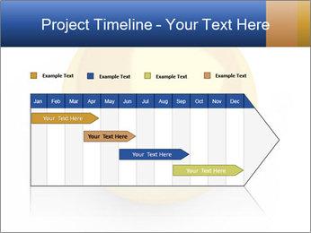 3D Yellow Bowling Ball PowerPoint Template - Slide 25