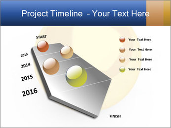 3D Yellow Bowling Ball PowerPoint Template - Slide 26
