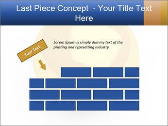3D Yellow Bowling Ball PowerPoint Template - Slide 46