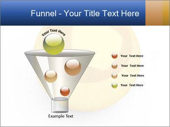 3D Yellow Bowling Ball PowerPoint Template - Slide 63