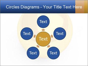 3D Yellow Bowling Ball PowerPoint Template - Slide 78