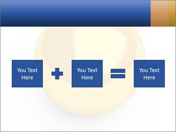3D Yellow Bowling Ball PowerPoint Template - Slide 95