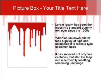 Realistic Blood PowerPoint Template - Slide 13
