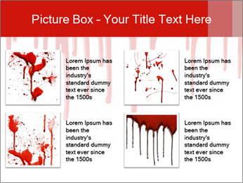Realistic Blood PowerPoint Template - Slide 14